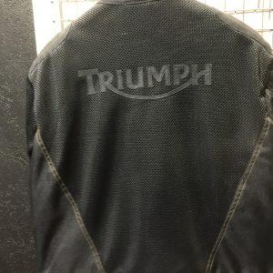Giacca Moto Triumph Black